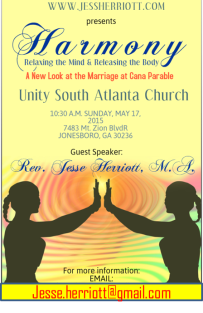 UNITY SOUTH ATLANTA LECTURE 051715 FLYER
