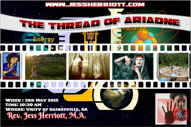 The Thread of Ariadne Poster_Unity of Gainesville_050315