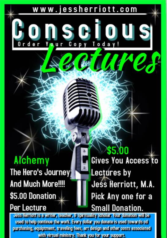 Conscious Lectures Flyer